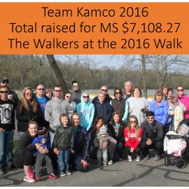 Kamco MS Walk 2016