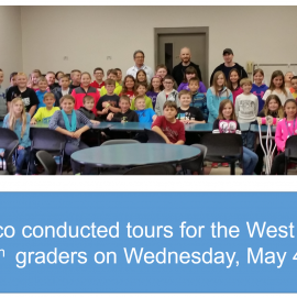 Hilltop Fourth Grade Class May 2016